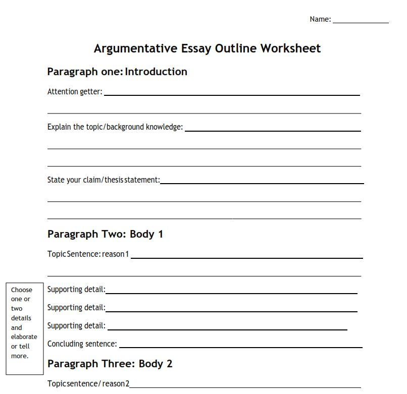 a complete guide on how to write an argumentative essay