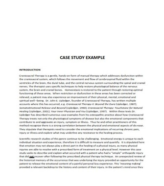 Case Study Examples In Daily Life (PDF)
