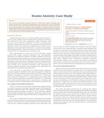Case Study Examples Psychology (PDF)