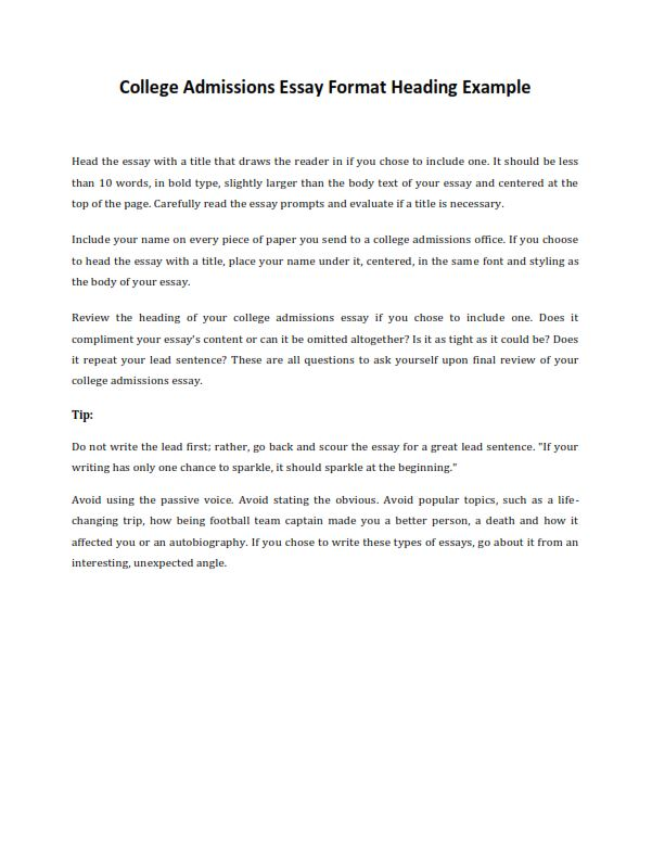Medical competitions essays
