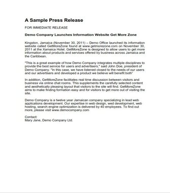 Press Release Samplee (PDF)