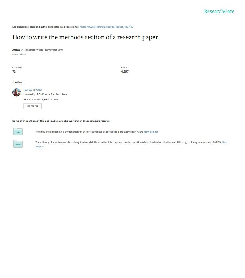 Critical Example of research Paper