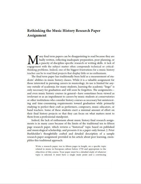 Research Paper Example