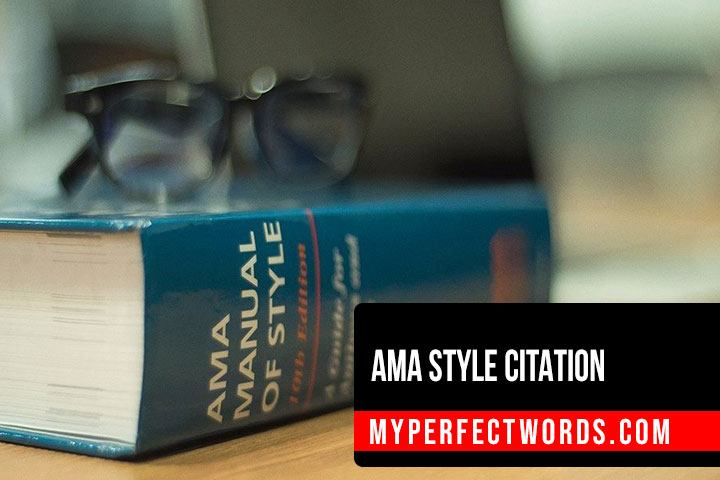 How to Cite in AMA Style Citation - Format and Examples