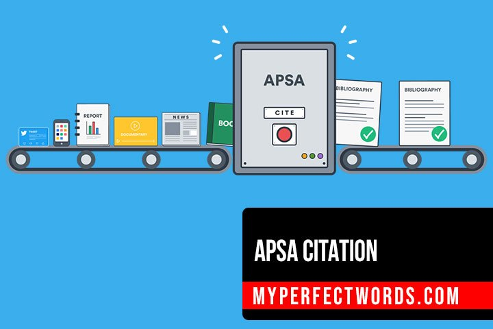 APSA Citation Guide: Citations and References