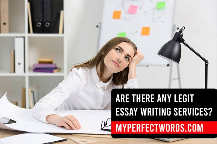 Are There Any Legit Essay Writing Services?