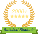 2000+ Satisfied Students