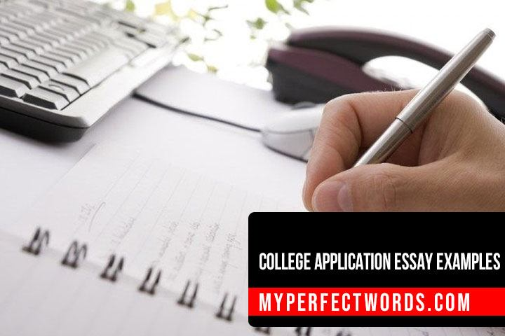 Top College Application Essay Examples For Students