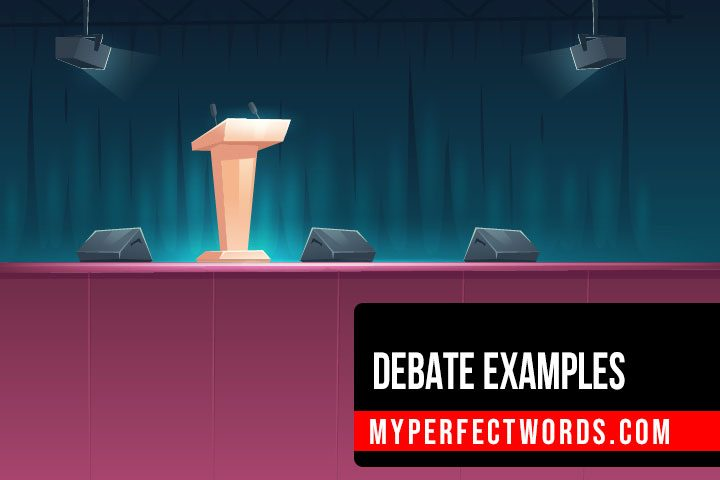 Free Debate Examples for All Academic Levels