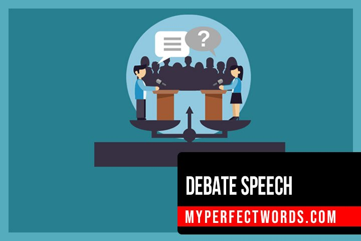 Debate Speech - Ultimate Writing Guide