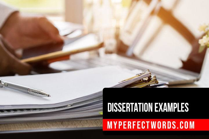 Easy Dissertation Examples for All Students