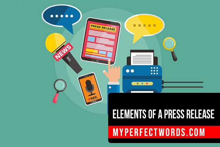 Key Elements of Press Release You Need to Know