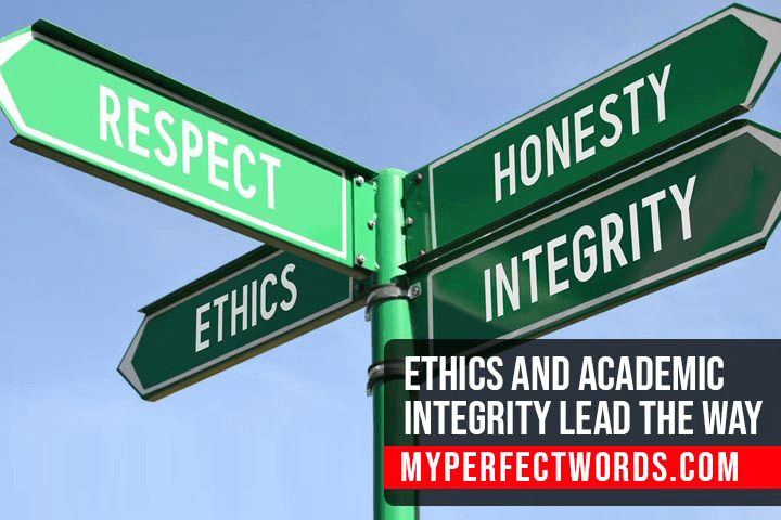 Ethics and Academic Integrity Lead the Way