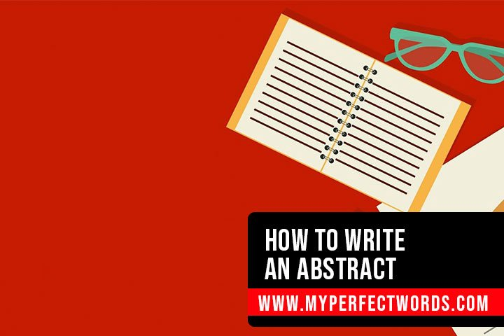 How to Write an Abstract - An Easy Guide
