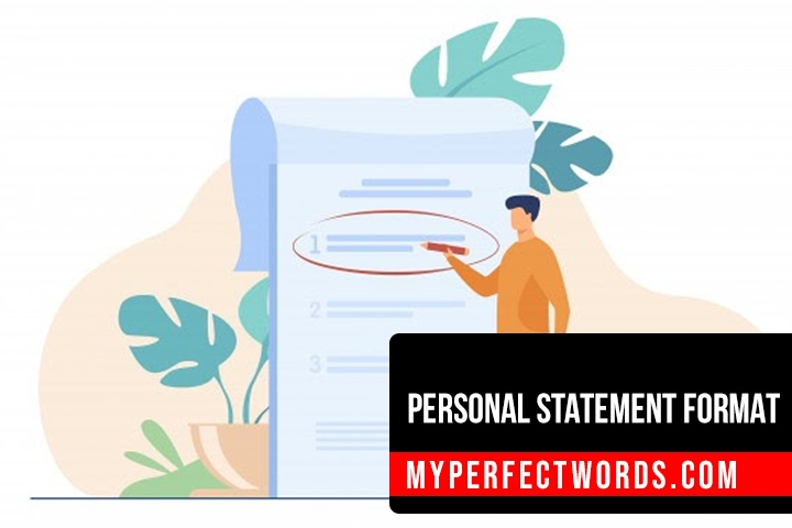 A Complete Guide to a Perfect Personal Statement Format