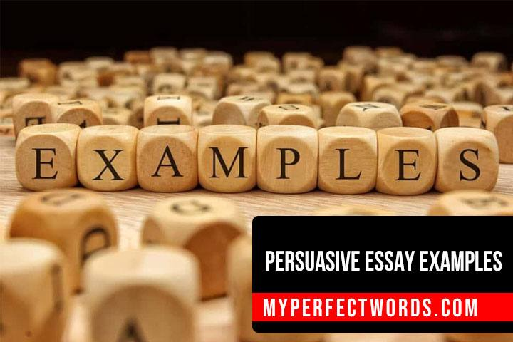 Persuasive Essay Examples To Help You Get Started