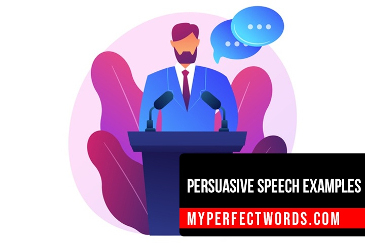 Good Persuasive Speech Examples for Students