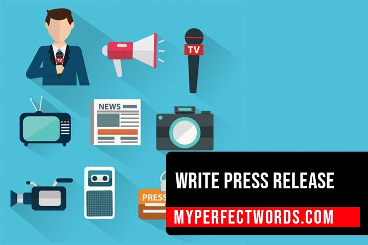 PRESS RELEASE FORMAT - GUIDELINES & FREE EXAMPLES