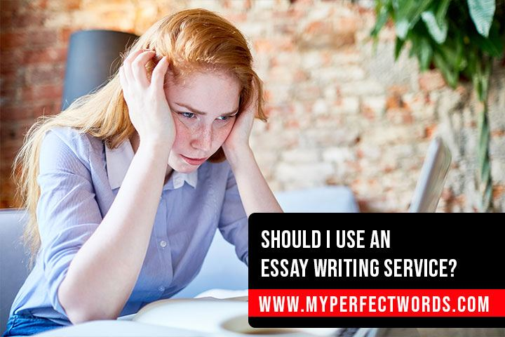 Do not use essay services