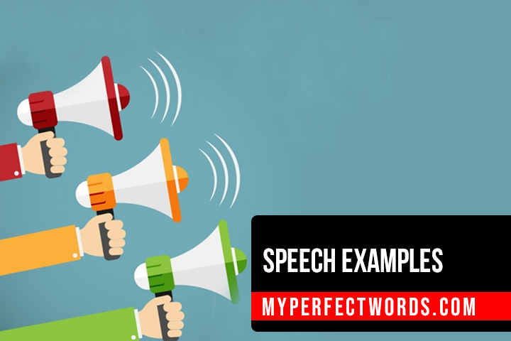 Easy Speech Examples for Your Help