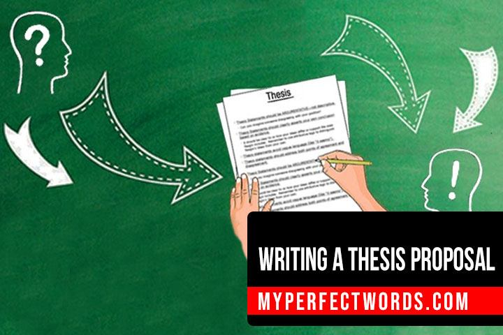 How To Write A Thesis Proposal - Template & Examples