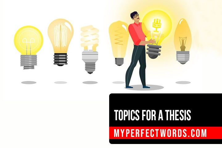Interesting Thesis Topics & Ideas To Get Started