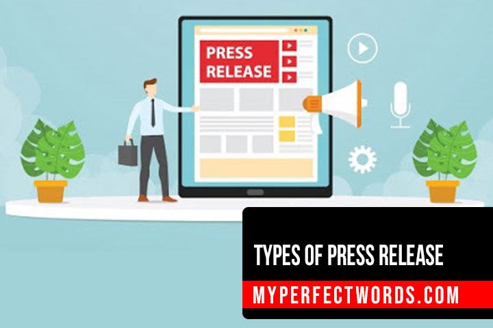 Common Types of Press Release to Get Free Publicity