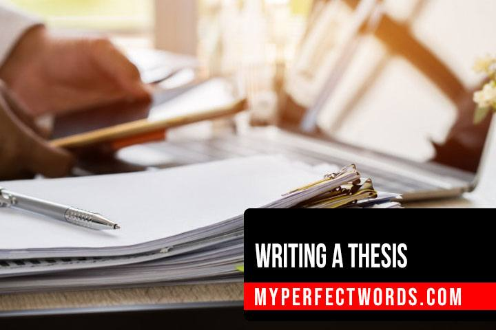 How to Write a Thesis: Outline & Thesis Samples